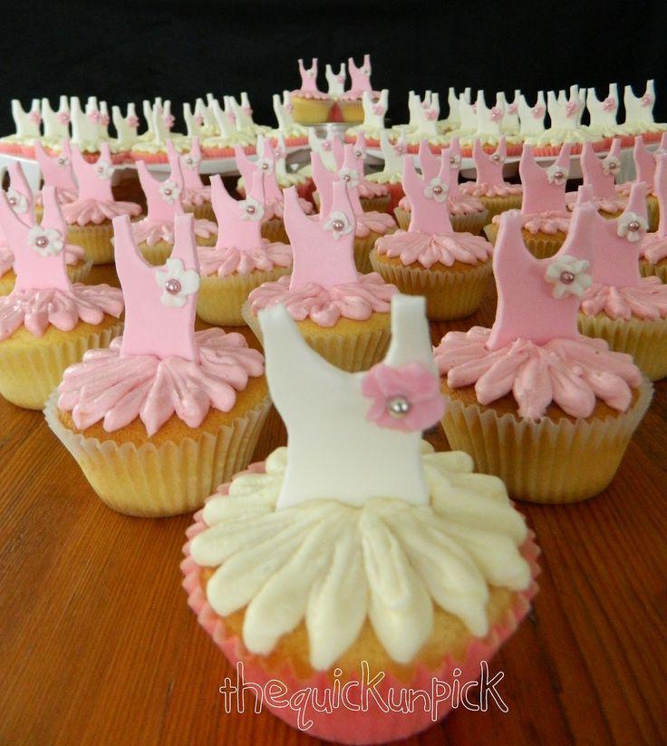 Ballerina Cupcake Cake Ideas