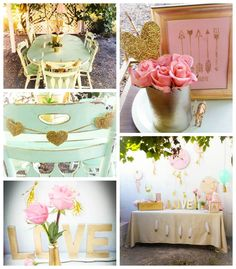 Bohemian Bridal Shower Ideas