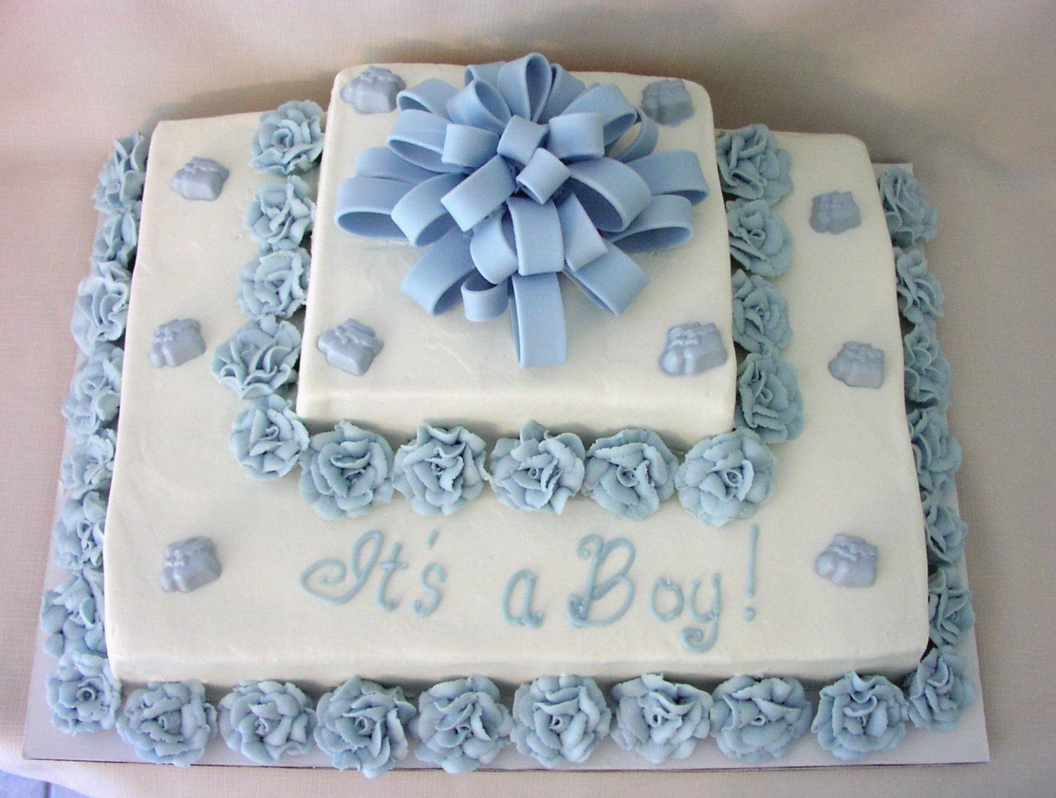 Boy Baby Shower Sheet Cake Ideas