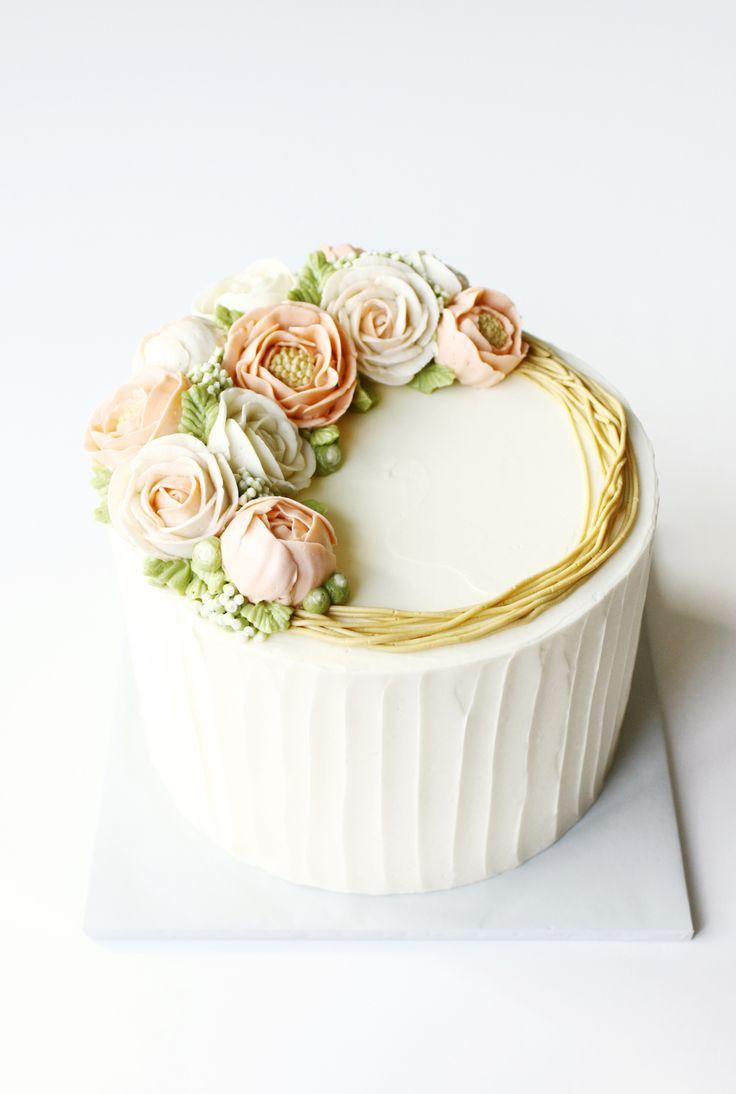 Buttercream Flower Cake Designs
