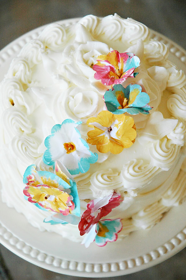 Cake Decorating Ideas with Flowers