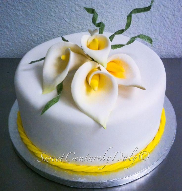 10 Photos of Calla Lily Fondant Cupcakes