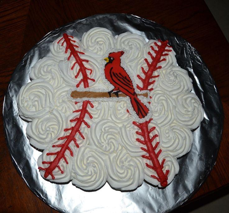 8 Photos of Cardinal Baseball Cakes
