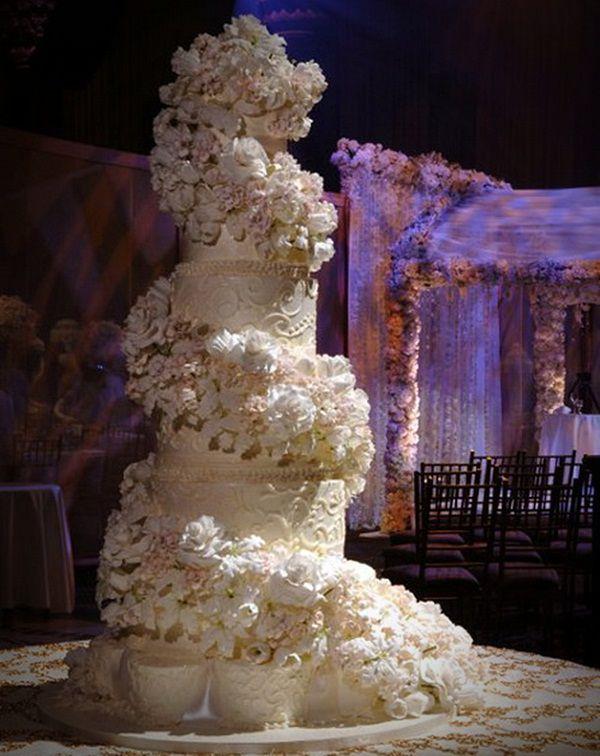Celebrity Wedding Cakes Sylvia Weinstock