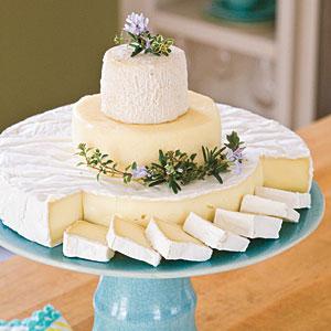 Cheese Wedding Cake Ideas
