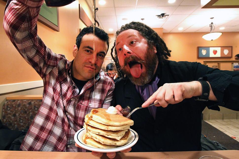 Crazy Waitress Pancakes