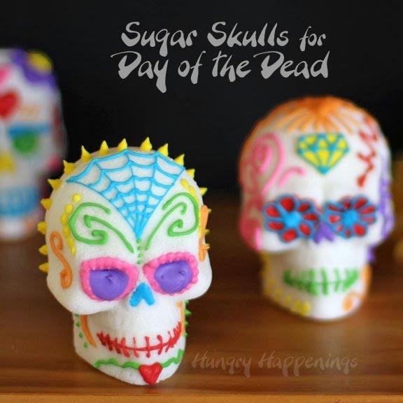 Day of the Dead Sugar Skull DIA De Muertos