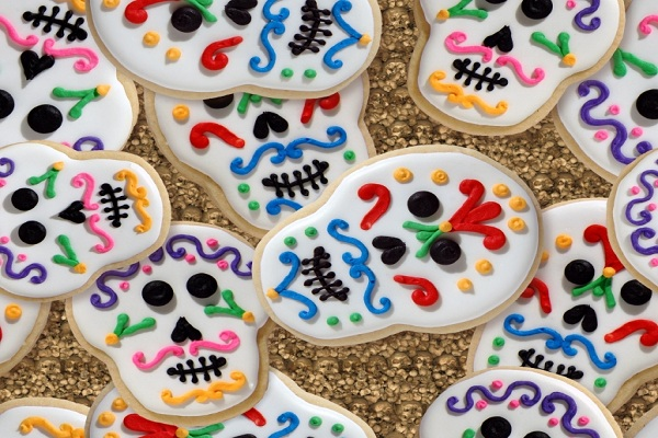 Day of the Dead Sugar Skulls Recipe