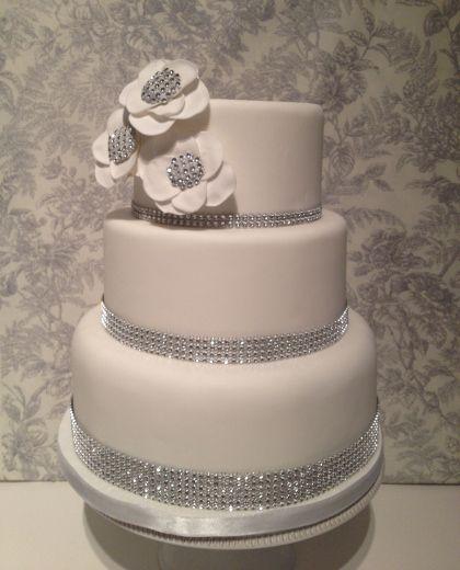 Diamond Wedding Cake Decorations