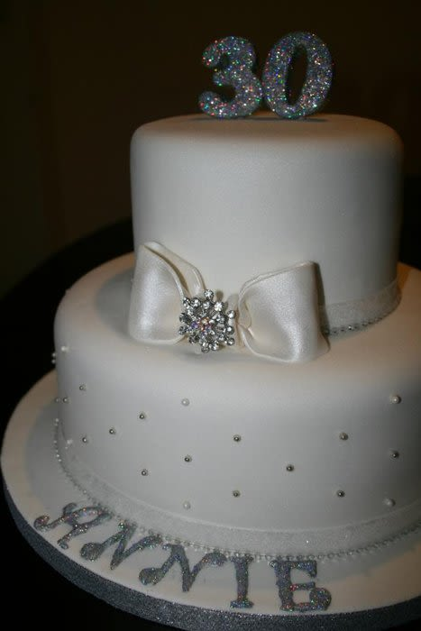 Diamond Wedding Cake