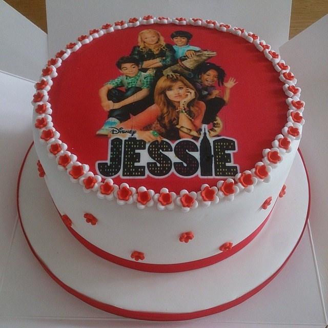 Disney Channel Jessie Birthday Cakes