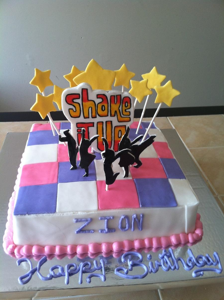 Disney's Shake It Up Birthday Cake