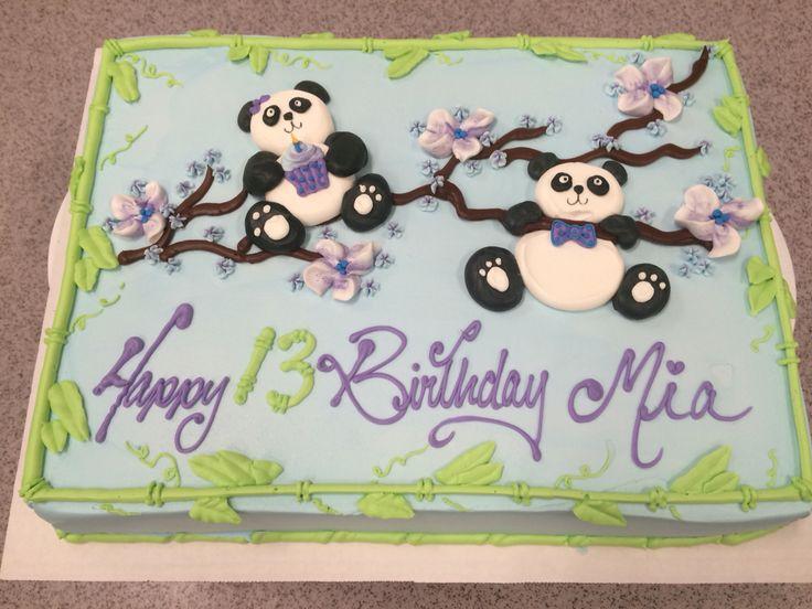 Easy Panda Cakes