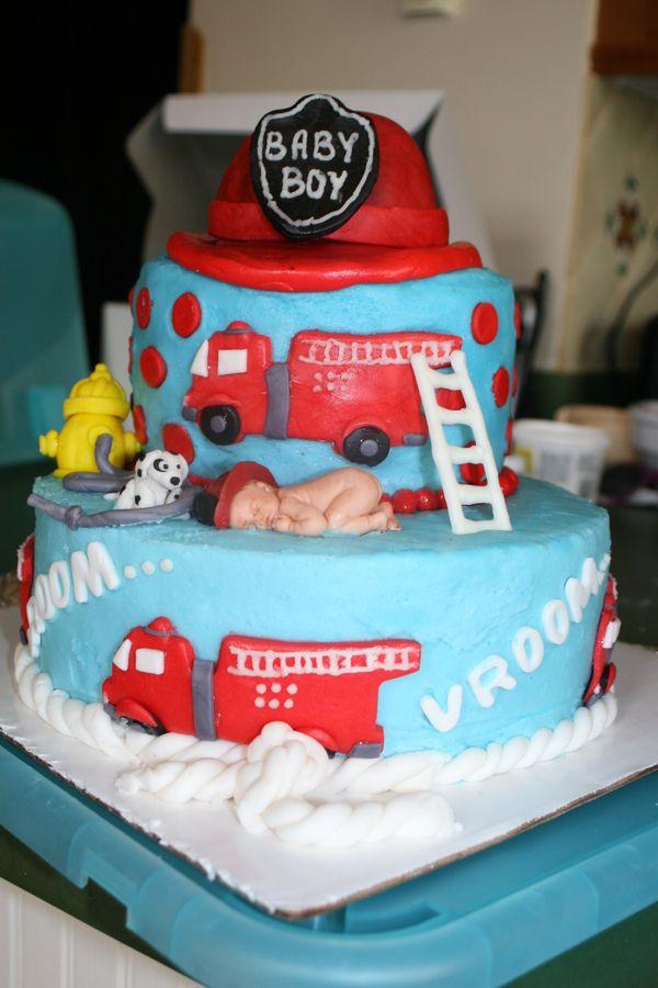 Firefighter Baby Shower Ideas