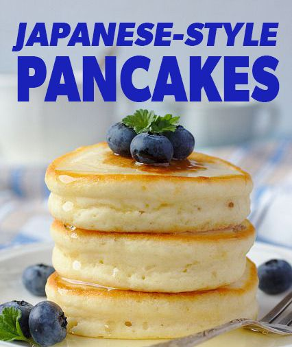 Fluffy Pancakes Recipe Japan
