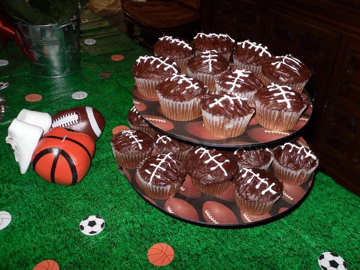 Football Theme Baby Shower Ideas