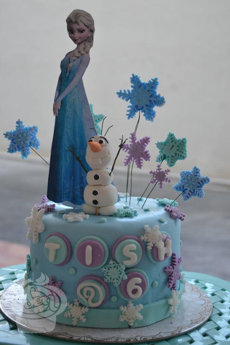 Frozen Cake Fondant