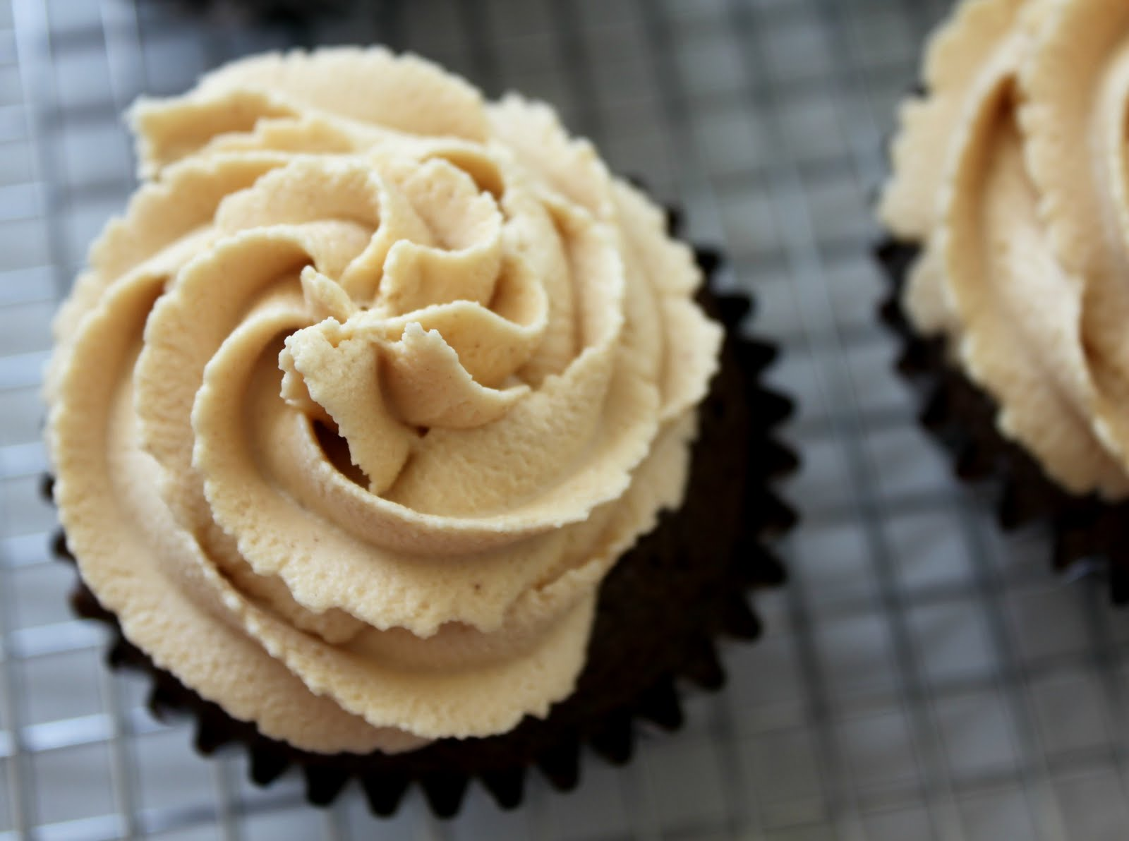 Fudge with Peanut Butter Filled Cupcakes