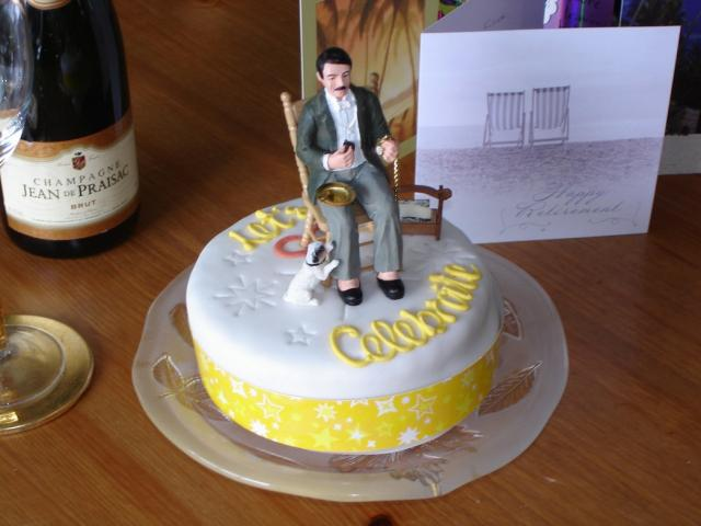 Funny Retirement Cakes Men