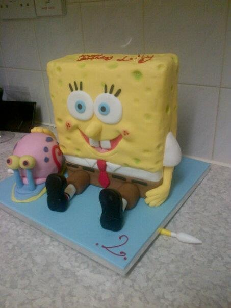 Gary the Snail Birthday Cake