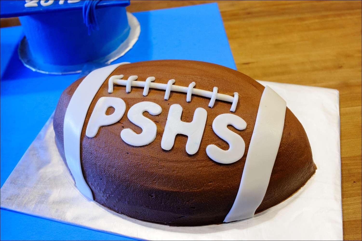 Graduation Football Cake Sports