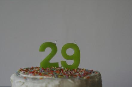 Happy 29 Birthday Cake
