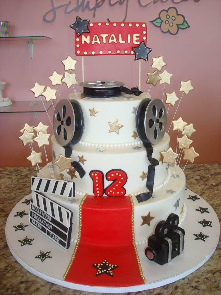 Hollywood Cake Decorations