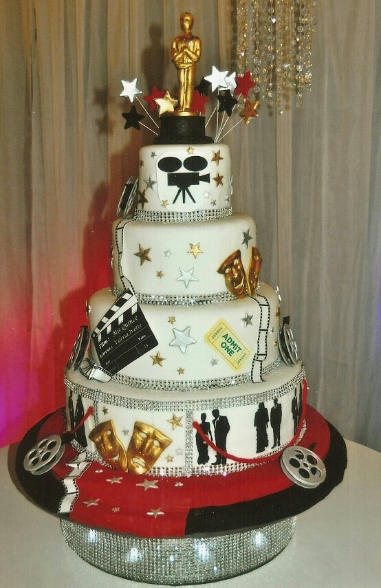 Hollywood Theme Cake Ideas