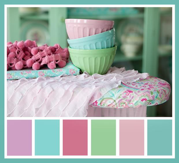 Ice Cream Pastel Color Palette