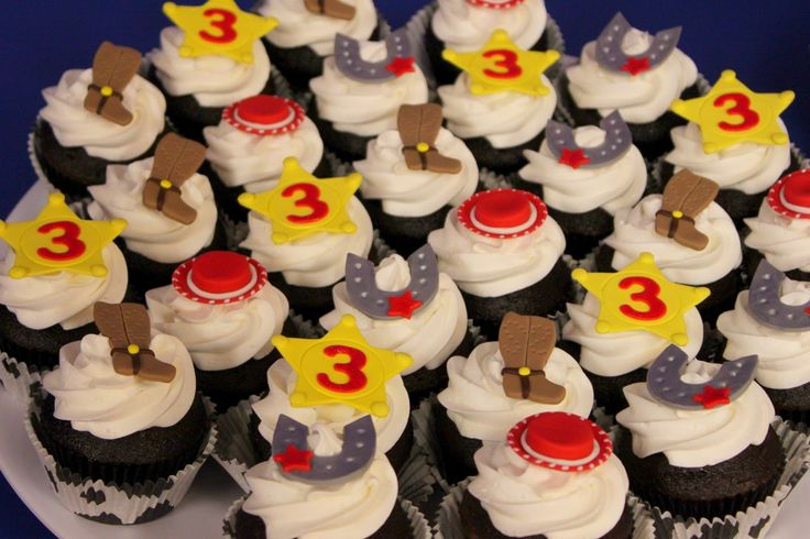 Jessie Cowgirl Cupcakes