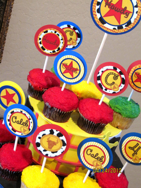 Jessie Toy Story Cupcake Toppers