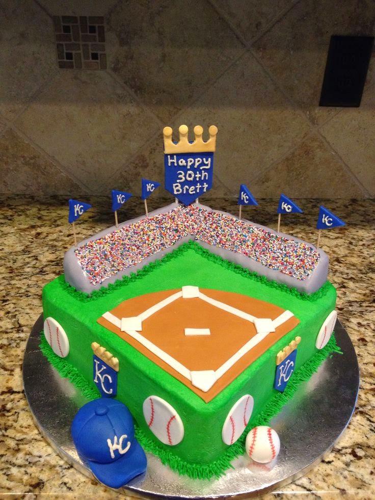 KC Royals Birthday Cake