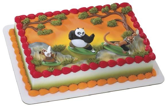 Kung Fu Panda Birthday Cake