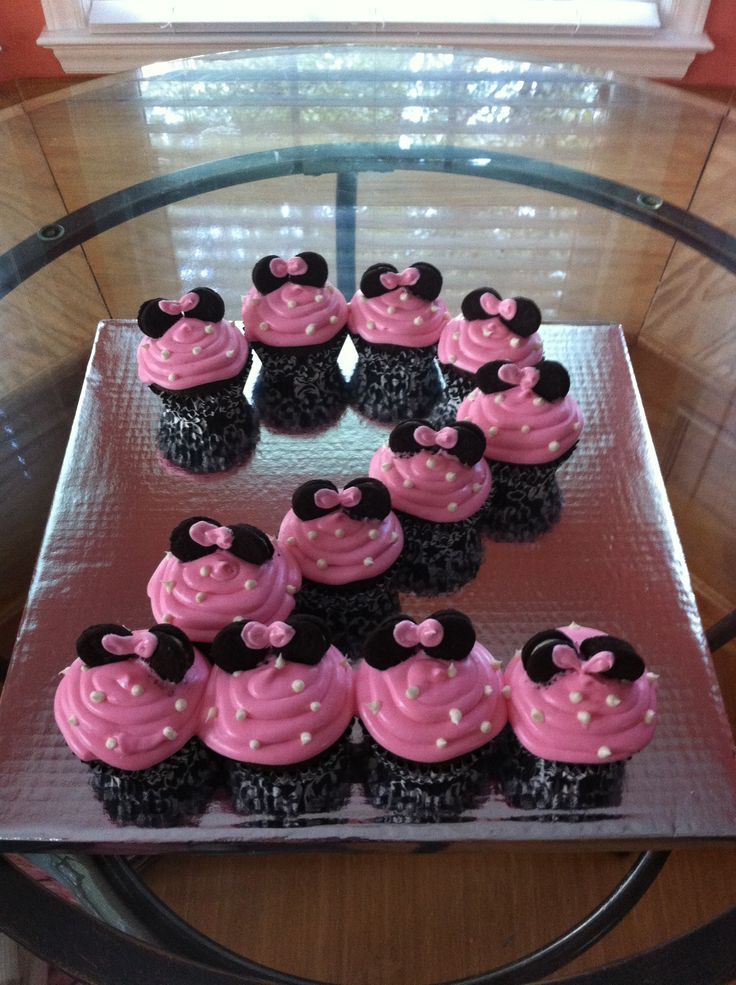 Minnie Mouse Cupcake Ideas