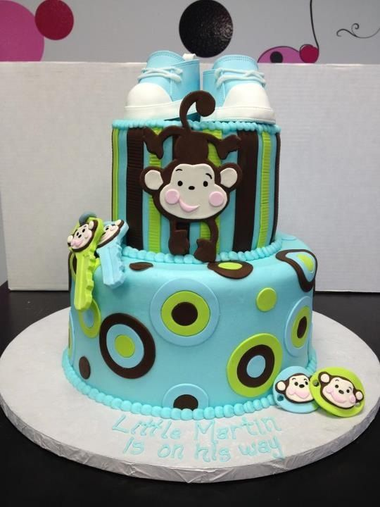 Monkey Baby Shower Cake Ideas