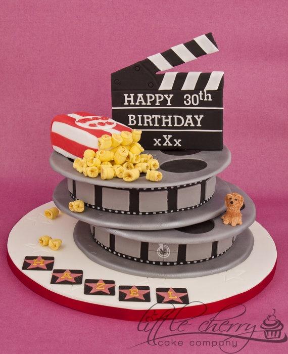 Movie Birthday Cake