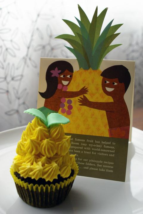 Pineapple Cupcake Cake