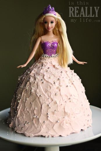Princess Doll Cake Recipe