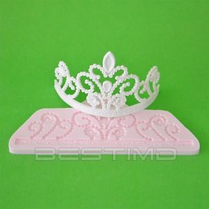 11 Photos of Tiara Molds For Cakes