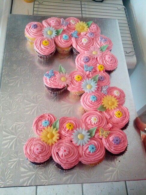 Pull Apart Cupcake Cake Number 3
