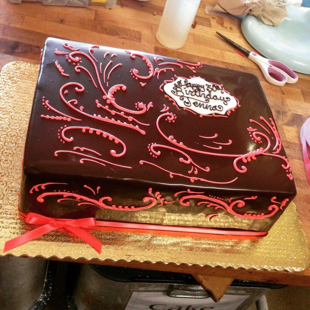 Quarter Sheet Chocolate Cake