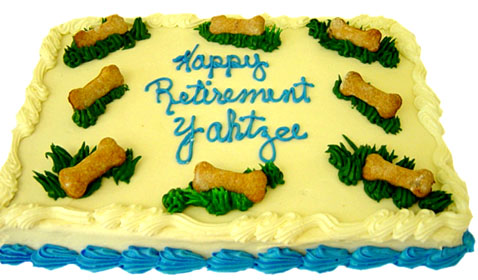 Retirement Themed Cakes
