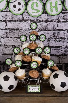 Soccer Baby Shower Decorations