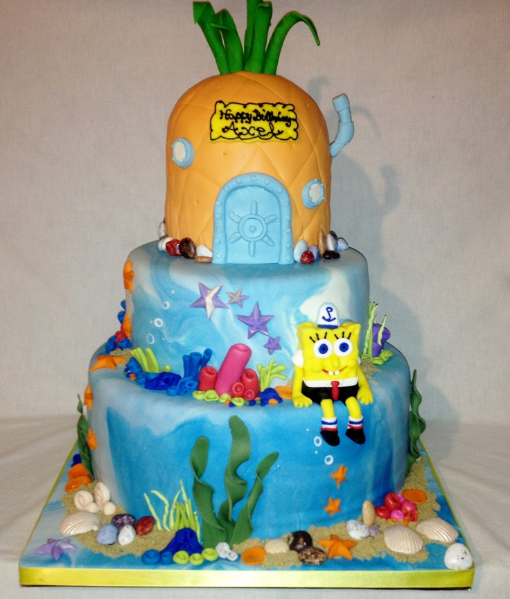 Spongebob Pineapple House Cake