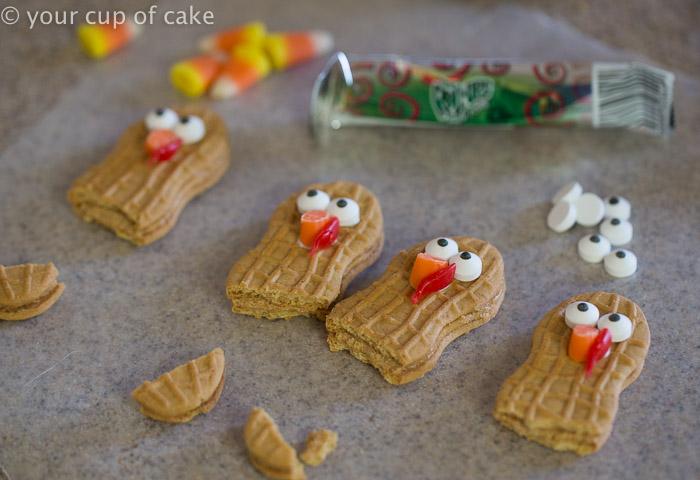 Thanksgiving Turkey Cupcakes Nutter Butter