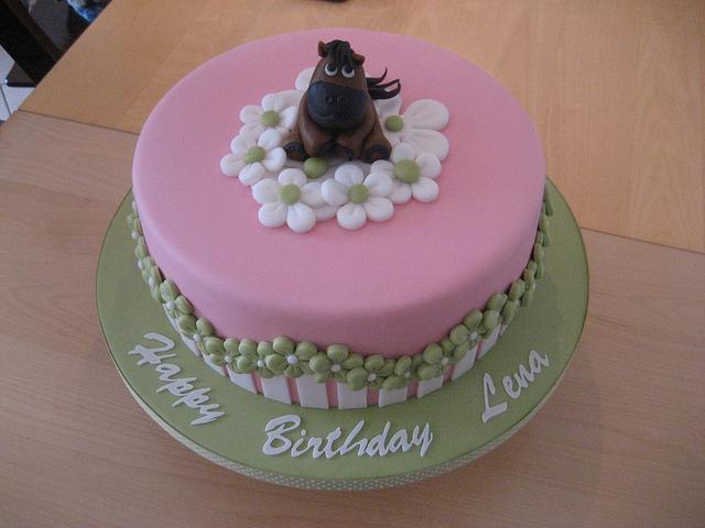The Birthday Cake Girl 8 Years