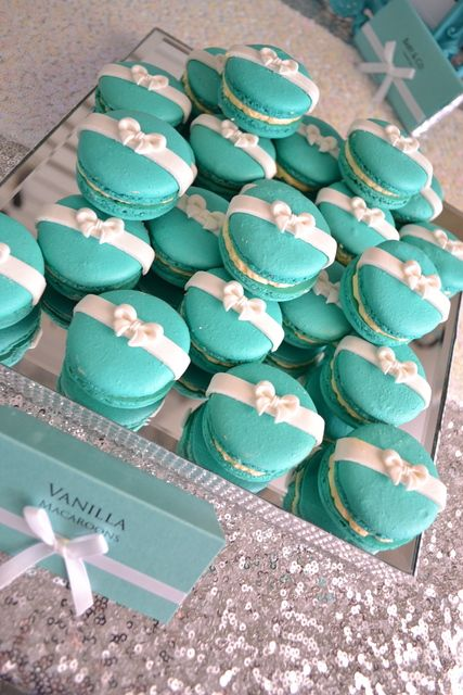 Tiffany and Co Baby Shower Theme