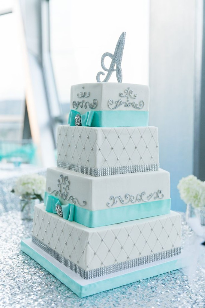 5 Photos of Tiffany Blue Wedding Cakes Ideas
