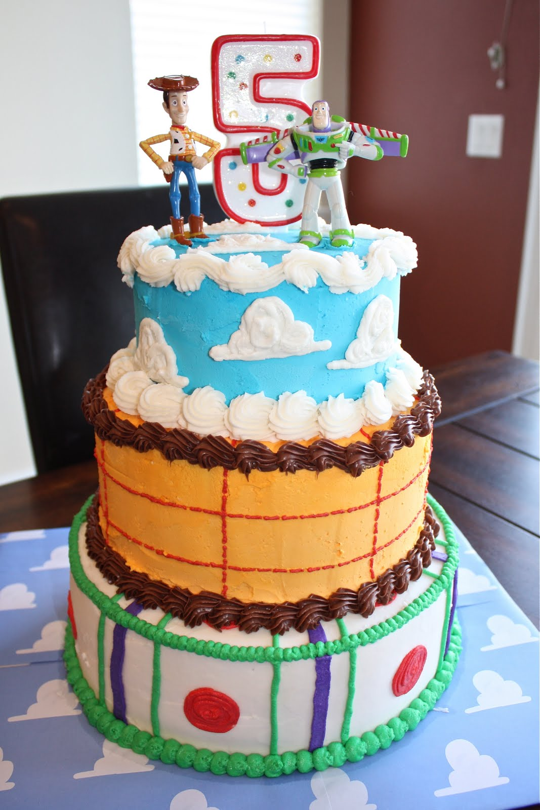 Toy Story CAKE Homemade