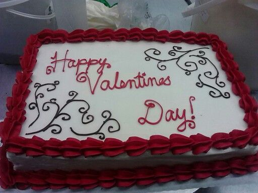 Valentine Sheet Cakes